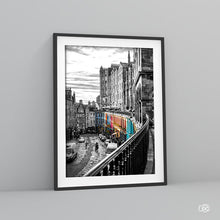 Load image into Gallery viewer, Edinburgh colourful street