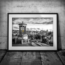 Load image into Gallery viewer, Edinburgh Calton Hill - Black & White Photography Art Print