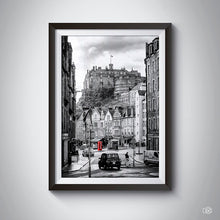Load image into Gallery viewer, Edinburgh castle art print