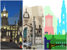 Load image into Gallery viewer, Edinburgh skyline