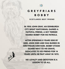 Load image into Gallery viewer, Greyfriars bobby story