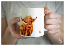 Load image into Gallery viewer, Highland Cow Mug - Colourful Trio coffee cup