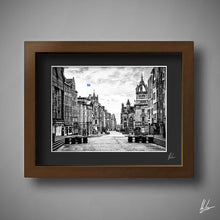 Load image into Gallery viewer, Royal Mile Edinburgh art