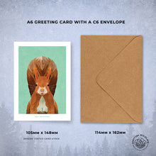 Load image into Gallery viewer, fun animal greetings cards