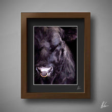 Load image into Gallery viewer, Cool Black Bull Painting