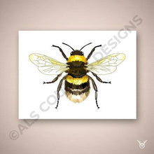 Load image into Gallery viewer, Honey bee painting