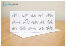 Load image into Gallery viewer, Love cycling road bike card