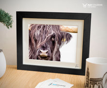 Load image into Gallery viewer, Black hairy coo art
