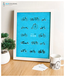 Love Cycling - Blue