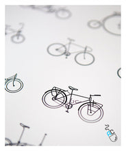 Load image into Gallery viewer, Types of bikes poster