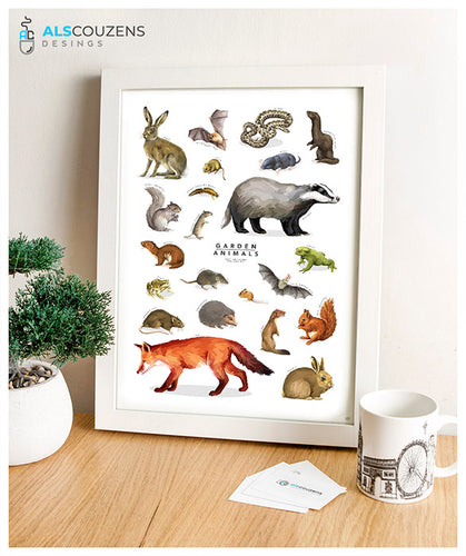 British animals art