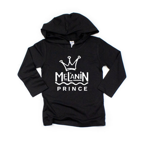 Melanin Prince infant toddler youth tshirt hoodie