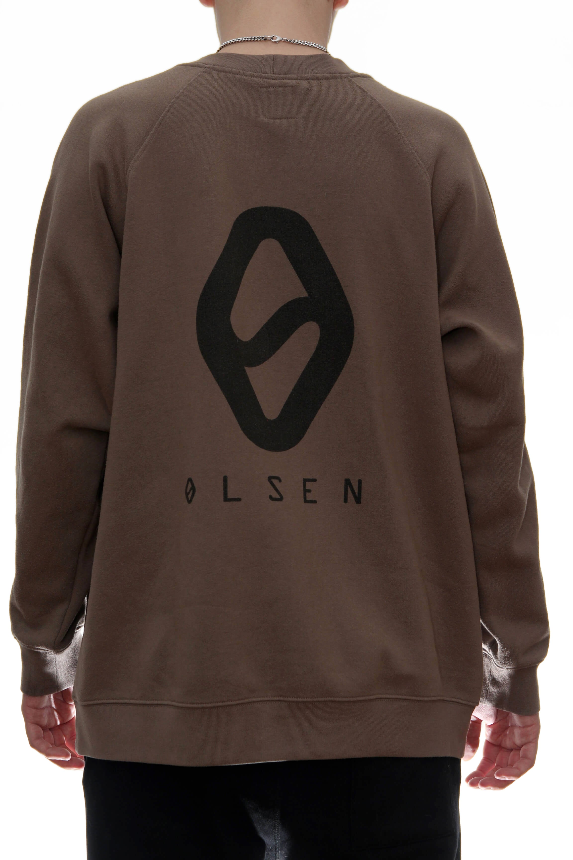 CREWNECK / BROWN