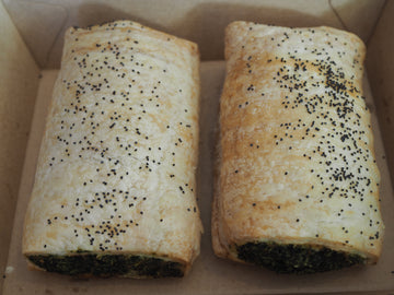 Frozen Spinach Rolls (pickup and delivery)