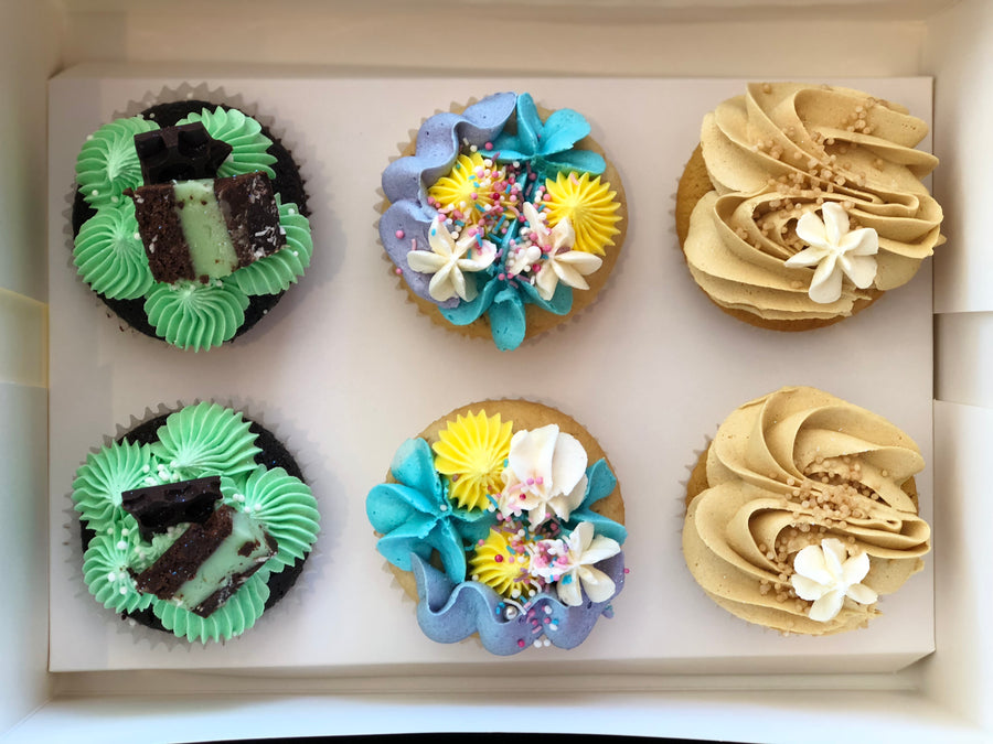 Cupcakes Assortment (Gluten-free option available) (Delivery)