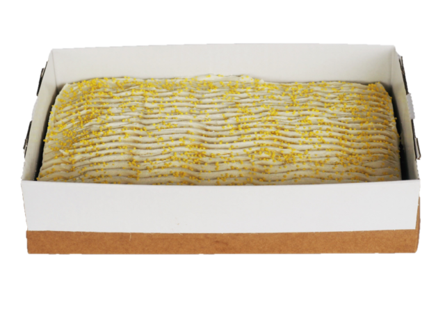 Lemon and Poppyseed Cake Slab