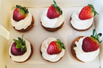 Ekka Strawberry and Cream Cupcakes