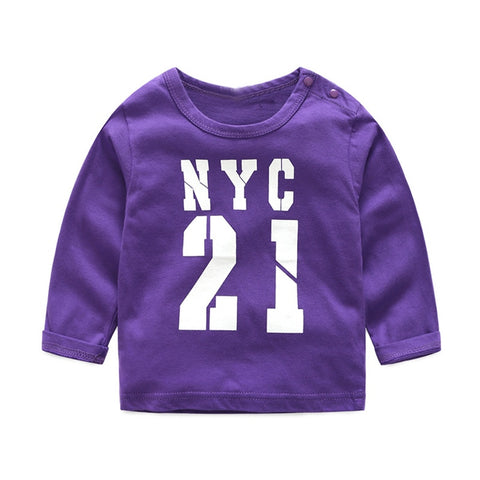 2019 Baby Tracksuit - Purple