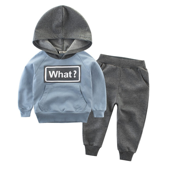 Toddler Expression Hoodie - Blue