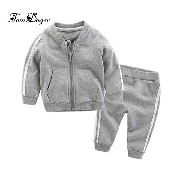2019 Baby Tracksuit - Gray