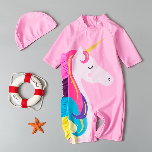 Baby Summer Swimwear Unicorn