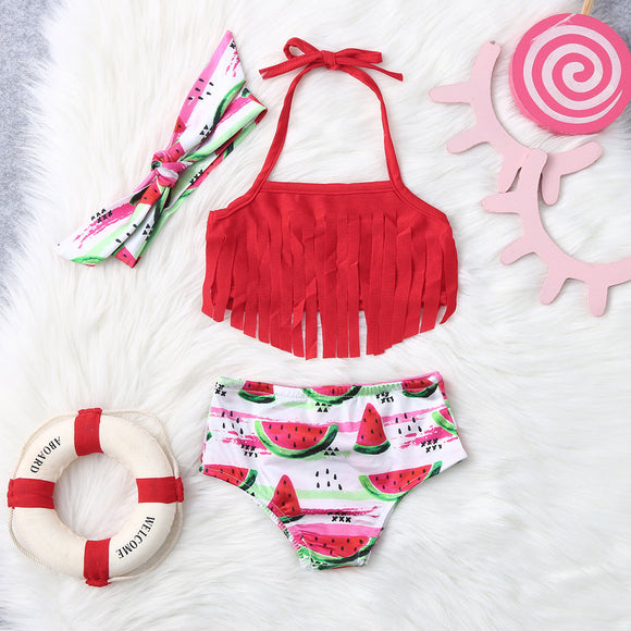 Watermelon Bikini Set 3-24 Months