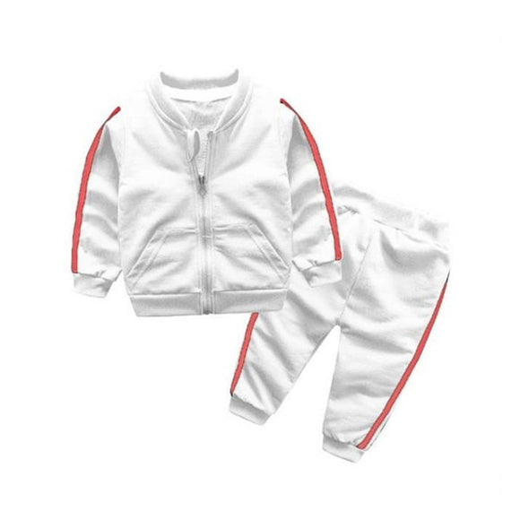 2019 Baby Tracksuit - White