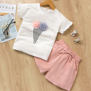 Cone Girls Set- Pink