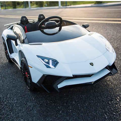 Electronic Lambo With Remote Control - White