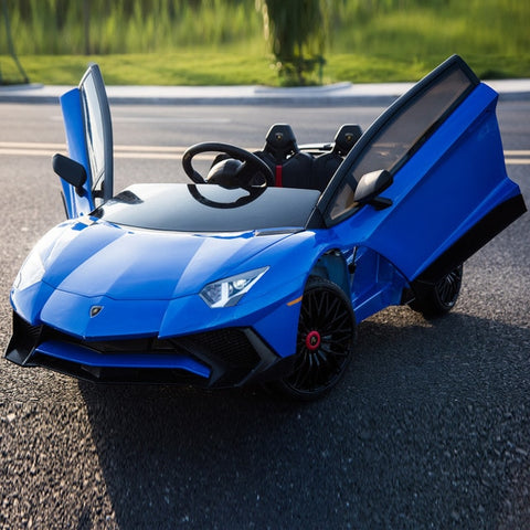 Electronic Lambo With Remote Control - Blue