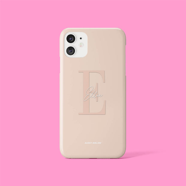 Beige Signature Case