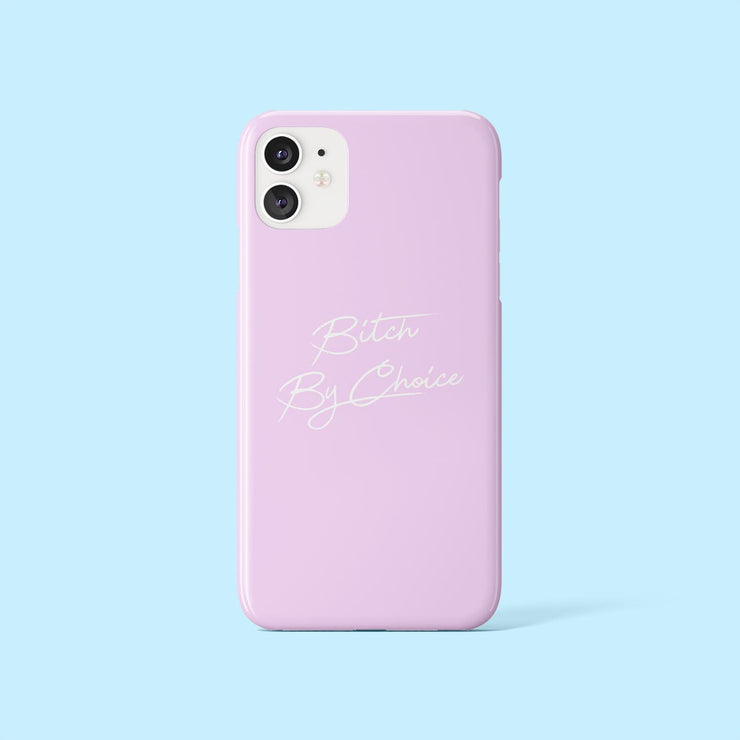 Bitch By Choice Lilac Case
