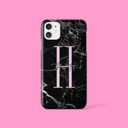 Black Marble Signature Case