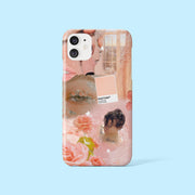 Peach Collage Case