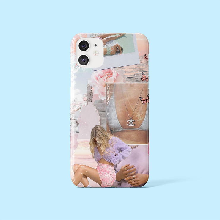 Lilac Collage Case