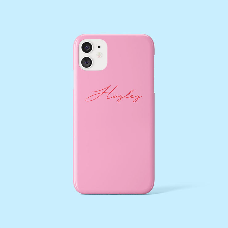 Hayley Red Signature Case