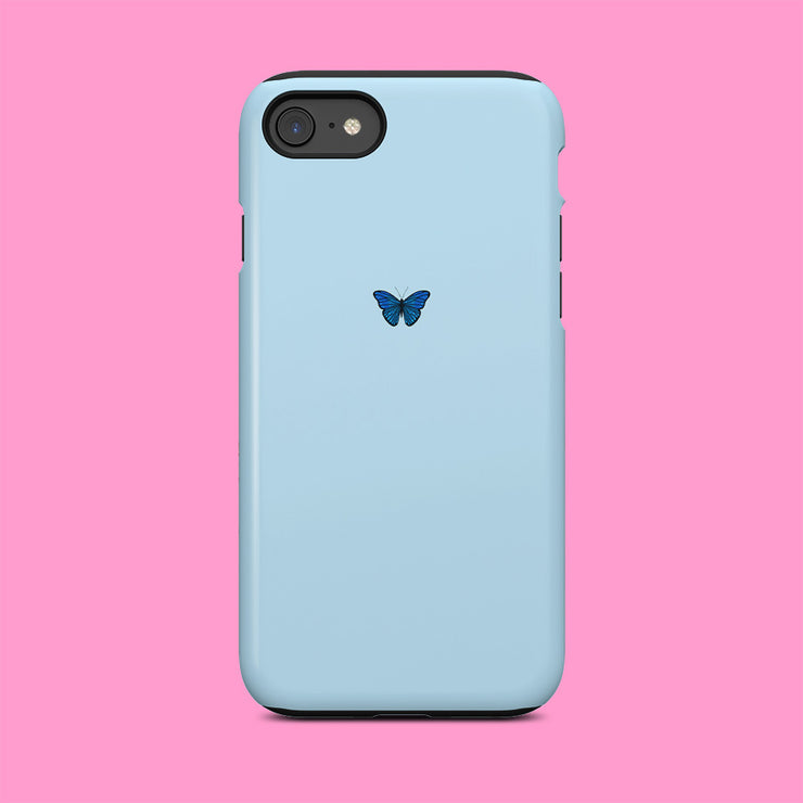 Blue Butterfly Mini Case