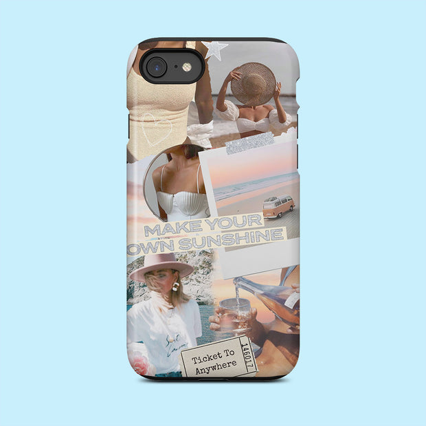 Make Your Own Sunshine Quote Case