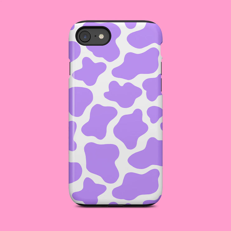 Purple Cow Print Case