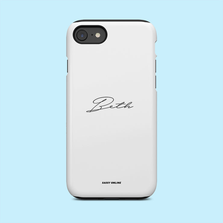 White Signature Case