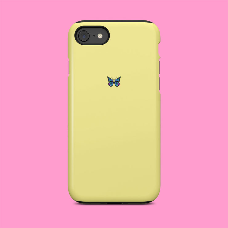 Yellow Butterfly Mini Case