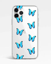 Clear Butterfly Case