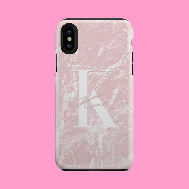 Luxe Pink Marble Case