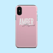 Amber Pink Marble Case