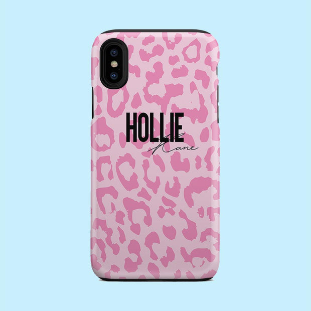 Hollie Pink Leopard Case