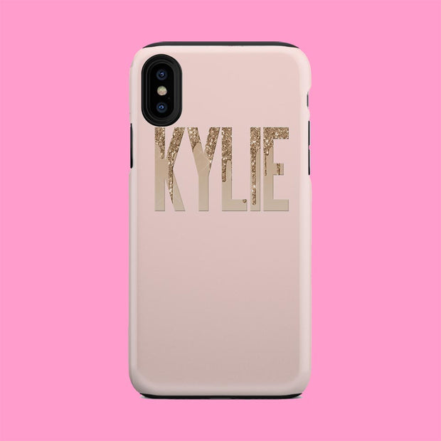 Kylie Gold and Beige Case