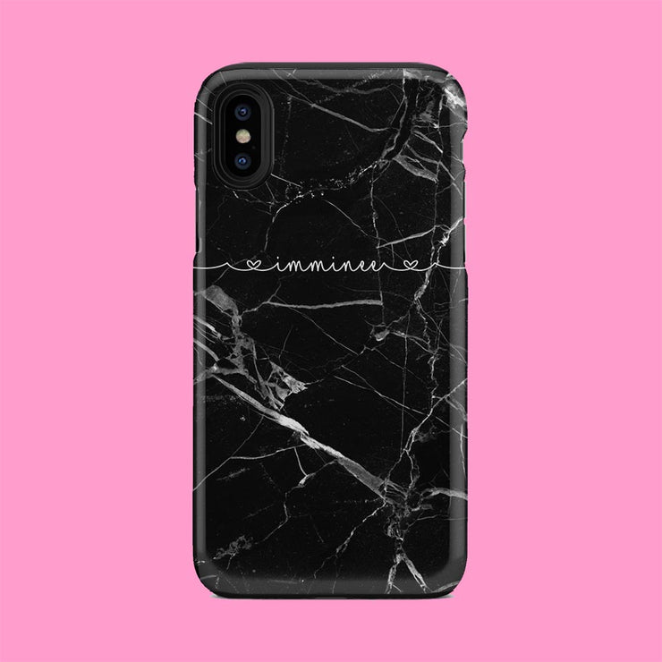 Monochrome Marble Case