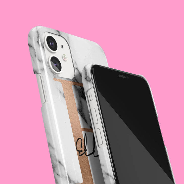 Grey Stone Marble Case