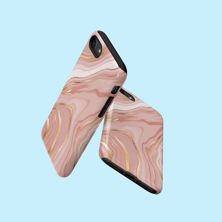 Satin Marble Effect Case