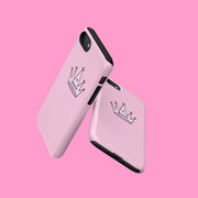 Pink Sassy Crown Case